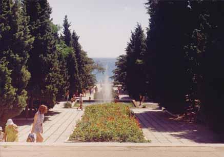 Парк санатория Судак